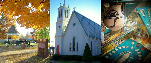 Native American History, Historic Churches and Architecure in Arcadia Valley, MO